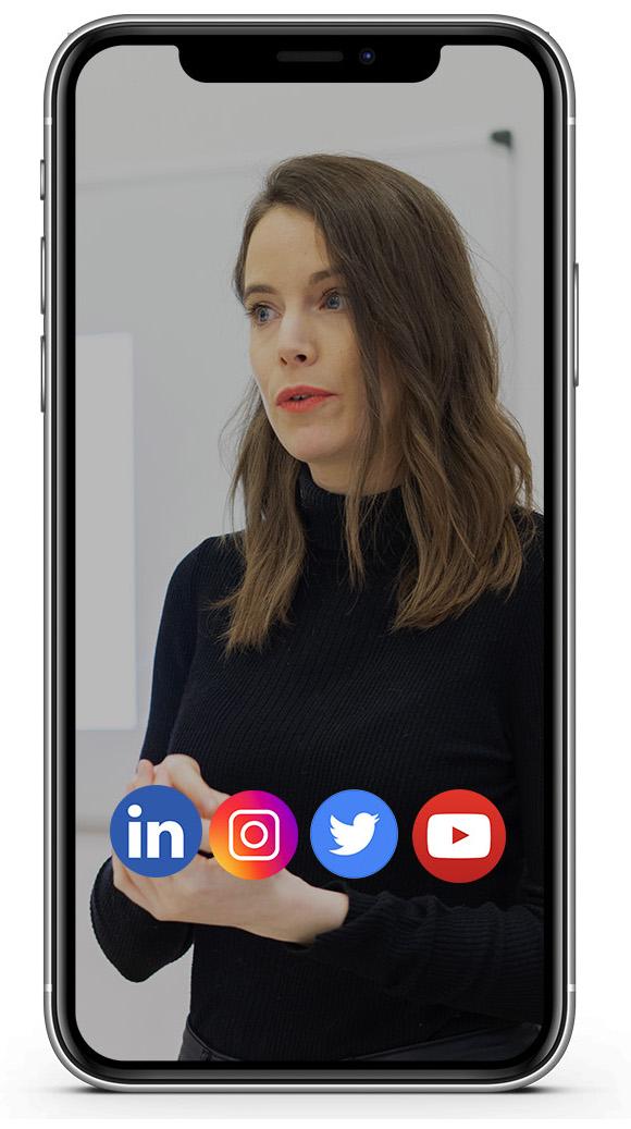 Coaching LinkedIN Instagram Youtube